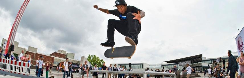 Contest de skateboard