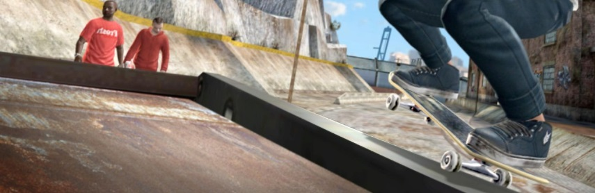 Jeu vidéo de Skate