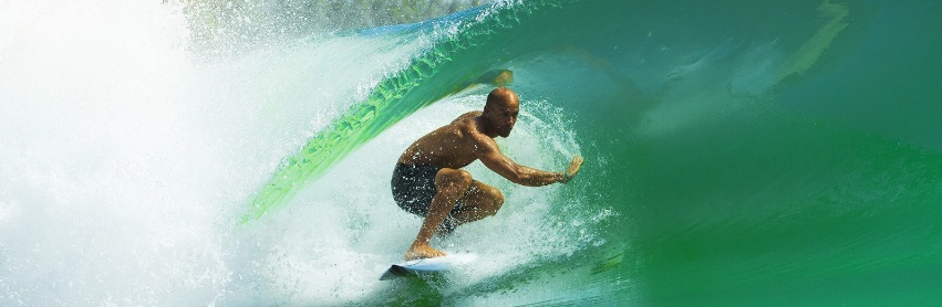 La vague parfaite de Kelly Slater