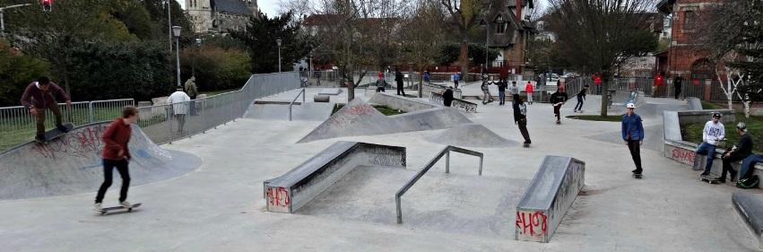 Skatepark de Poissy